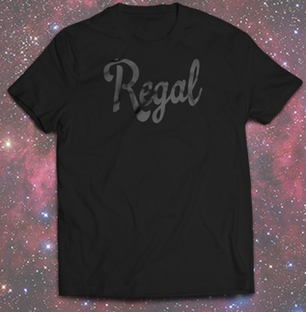 Black on black tee from Regal Apparel at hdstyle.co.uk