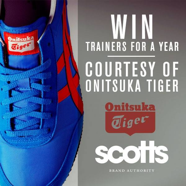 Win Onitsuke tiger trainers with Scotts #HDRATED by Heavie Dutie Style