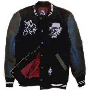 Heavie Dutie: Rum Knuckle smoking skull jacket