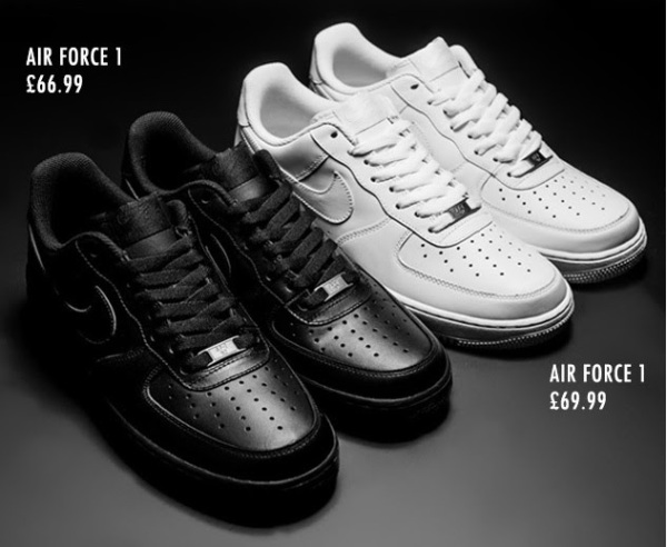 Air Force 1's at Footasylum