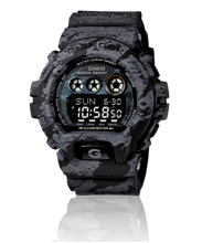Casio G Shock x Maharishi watch on Heavie Dutie Style