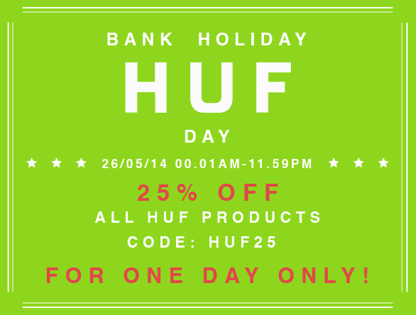 Bank hol huf day at 5pointz