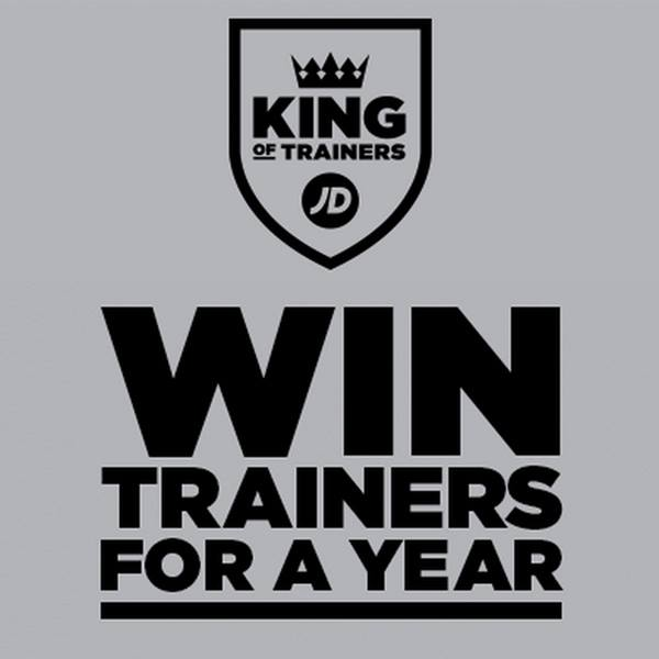 Win JD Sports Trainers for a year