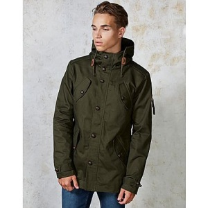 Fly53 Burton Cotton Parka