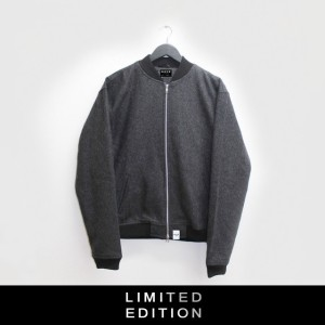 WOOL BOMBER/GREY LIMITED EDITION from NICCE London