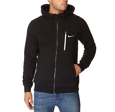 Buy the Nike Destroyer Fleece hoody in Black/white for £40 from JD Sports