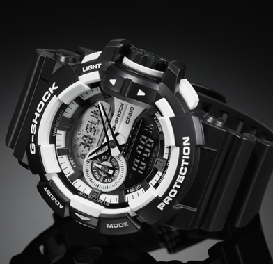 Black & White G-Shock