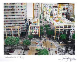 Downtown from the sky 2 Fabio Coruzzo