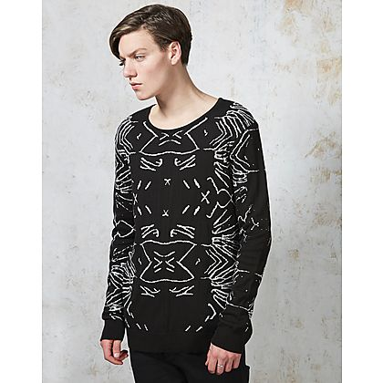 Nicce Webb Crew Neck Knit