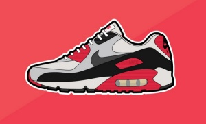 Air Max 90 illustration from Complex.com