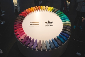 Adidas Superstars supercolor circle taken from Size? RECAP: adidas Originals 'Supercolor Live' Event.
