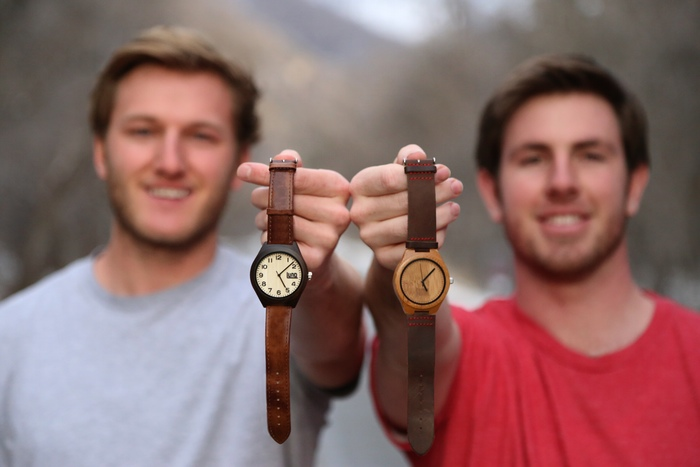 LunoWear watches founders Ryan & Bo show off their products