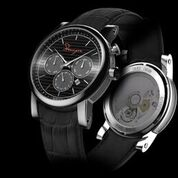Heavie Dutie Style presents Stranger Time black strap watches