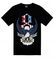 Rebel8 Freedom T Shirt Black