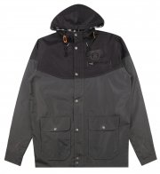 Rebel8 Pioneers Hooded Jacket Black