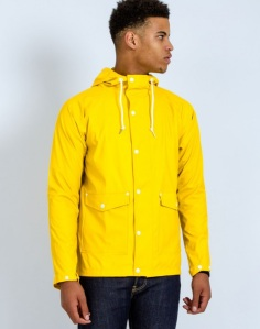 The Idle Man Hooded Mac Yellow Was £40 Now £32